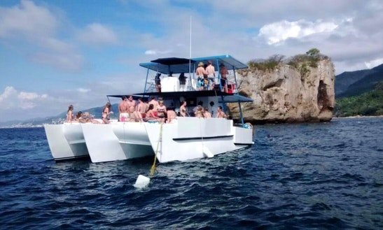 Power Catamaran Rental In Puerto Vallarta