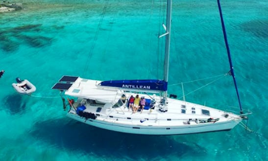 Charter 50' Beneteau Cruising Monohull In St. Thomas, Virgin Islands