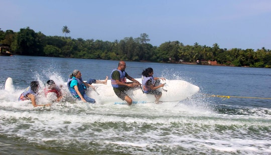 Enjoy Tubing In Devbag, Maharashtra
