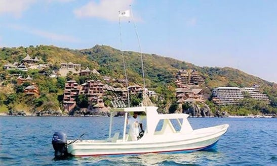 26' Super Panga Fishing Charter In Ixtapa