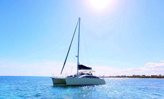 36' Cruising Catamaran Charter In Quintana Roo, Mexico