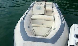 Charter 15' Rigid Inflatable Boat in Parham Town, British Virgin Islands