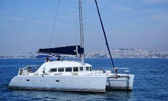 Charter 38' Lagoon Cruising Catamaran in Paleo Faliro, Greece