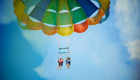 Parasailing Adventure In Lapu-lapu City, Philippines