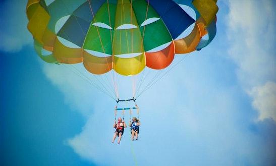 Parasailing Adventure In Lapu-lapu City, Philippines