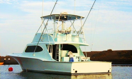 43' Fishing Yacht In Puerto Quetzal