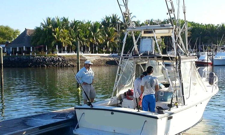 "Enjoy Fishing On 25ft ""Kalipso"" Shamrock Yacht In Chisec Alta, Guatemala"