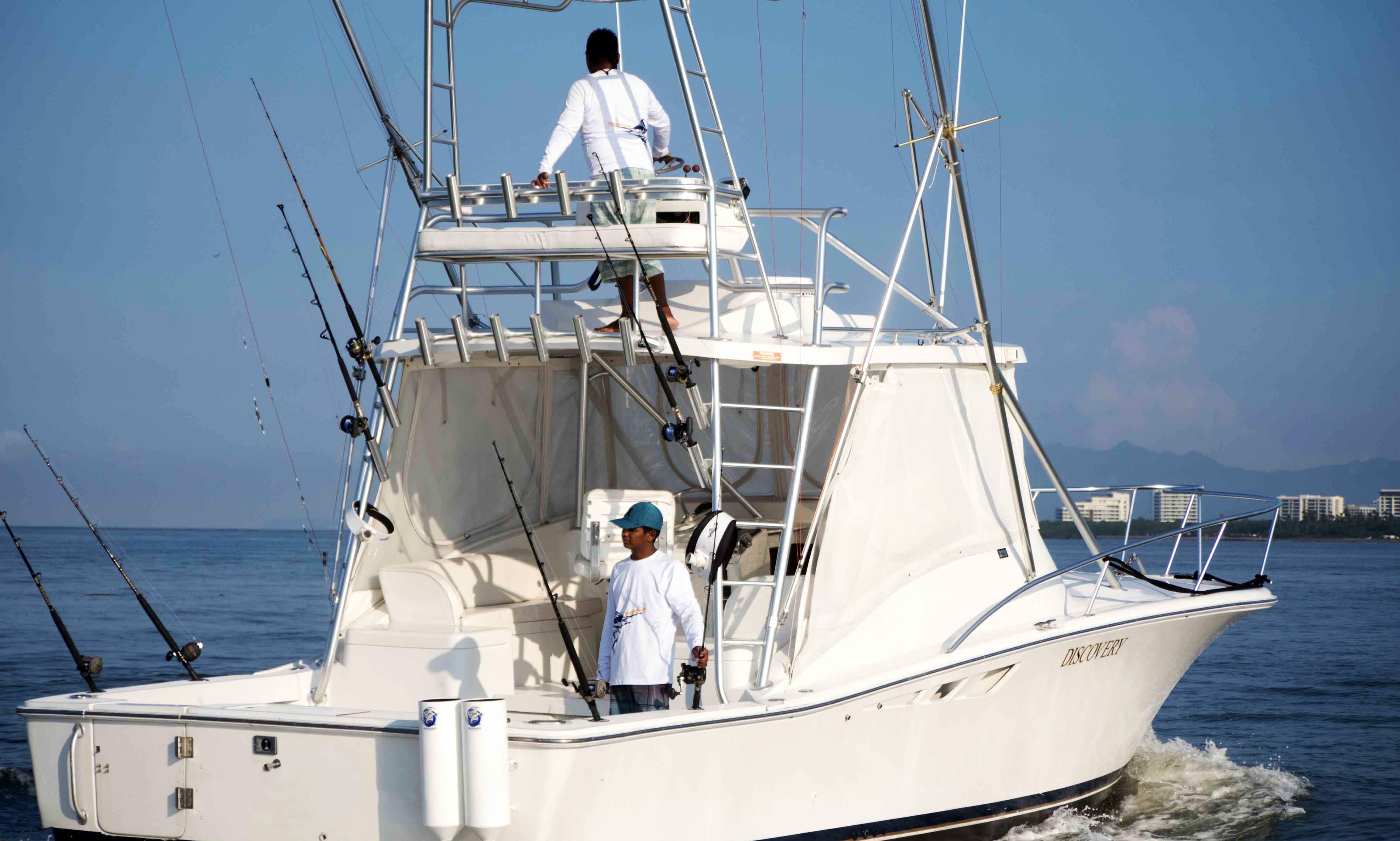 Ultimate Fishing Experience On Belugas 32' Yacht