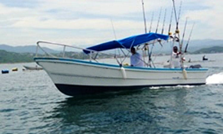 "Sportfishing Trips on the ""Fregata"" in Manzanillo"