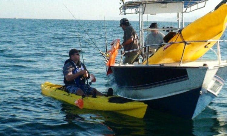 Kayak Fishing Expedition In  Puerto Vallarta