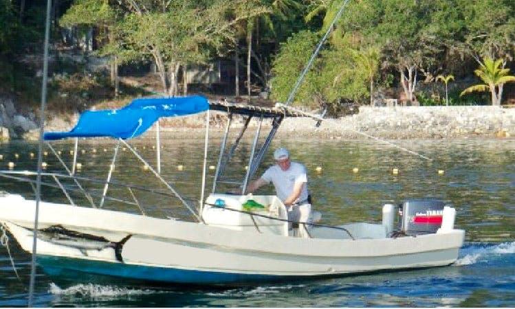 23' Panga Fishing Boat In Ixtapa