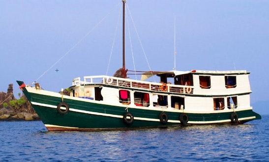 Charter Houseboat In Yangon, Myanmar