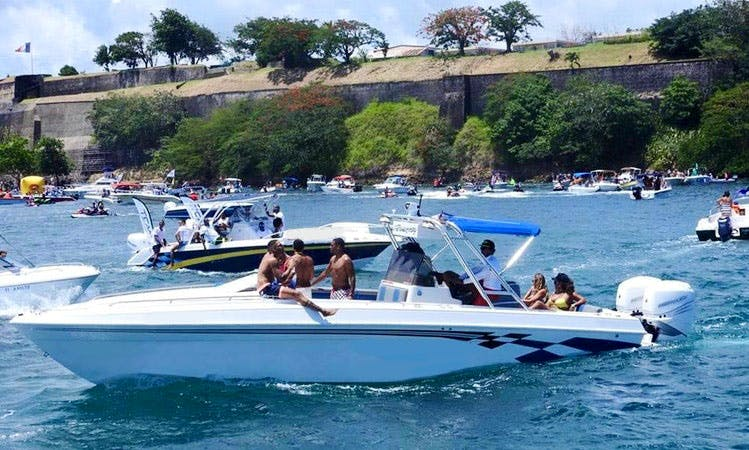 Enjoy Fishing in Fort-de-France, Martinique on Center Console