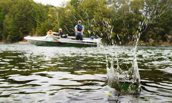 Have A Go At Jet Boat Fishing In Te Anau, Fiordland, New Zealand