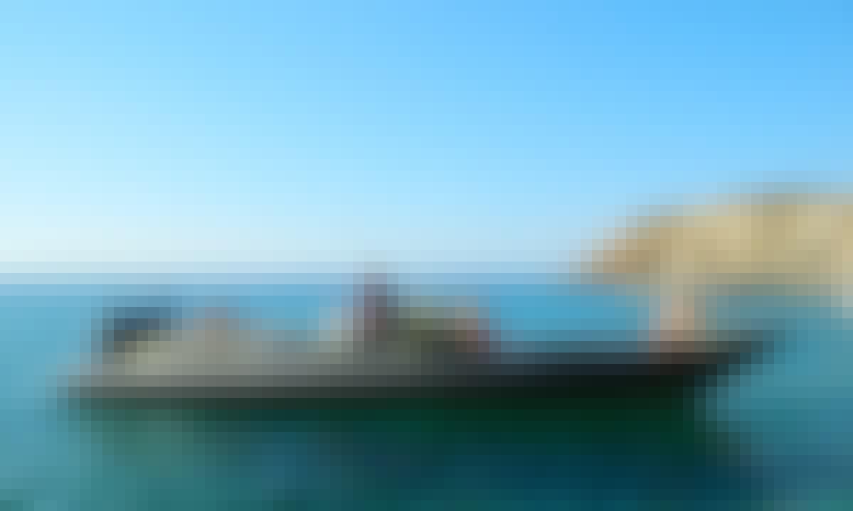 Charter 33' Skipper 4U Rigid Inflatable Boat in Paleo Faliro, Greece