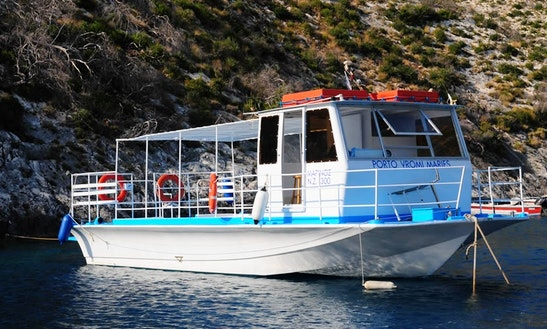 Charter Marinos Passenger Boat In Zakinthos, Greece