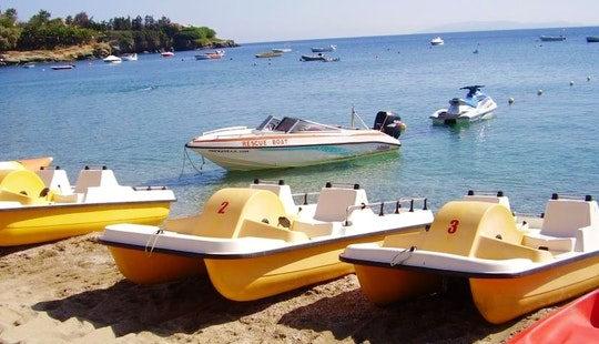 Rent A Paddle Boat In Agia Pelagia, Greece