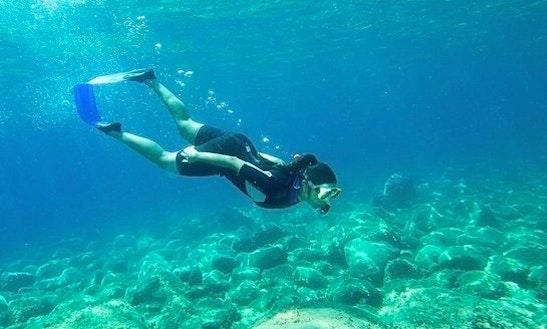 Enjoy Snorkeling In Chalkidiki, Greece