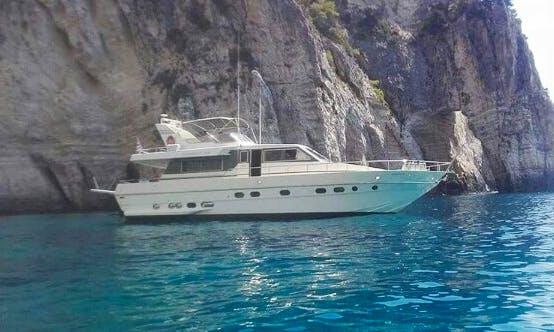 Charter 58' Canados Power Mega Yacht in Katakolo, Greece