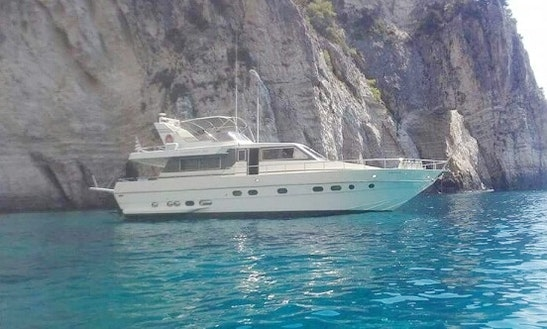Charter 58' Canados Mega Motor Yacht In Katakolo, Greece