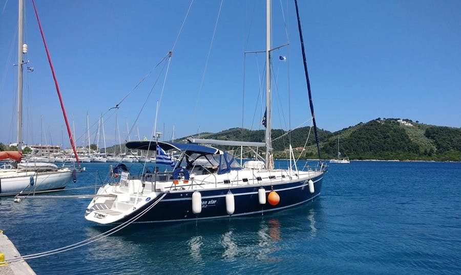 12 person sailing charter trip in Skiathos, Greece