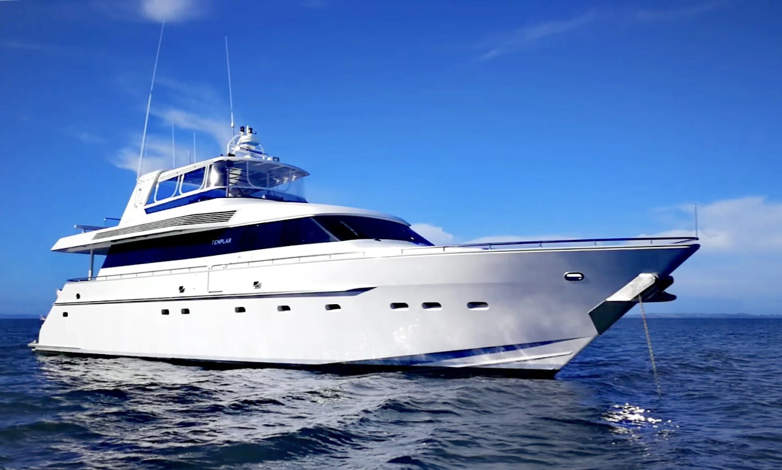 "Charter 84ft ""MY Templar"" Power Mega Yacht In Auckland, New Zealand"