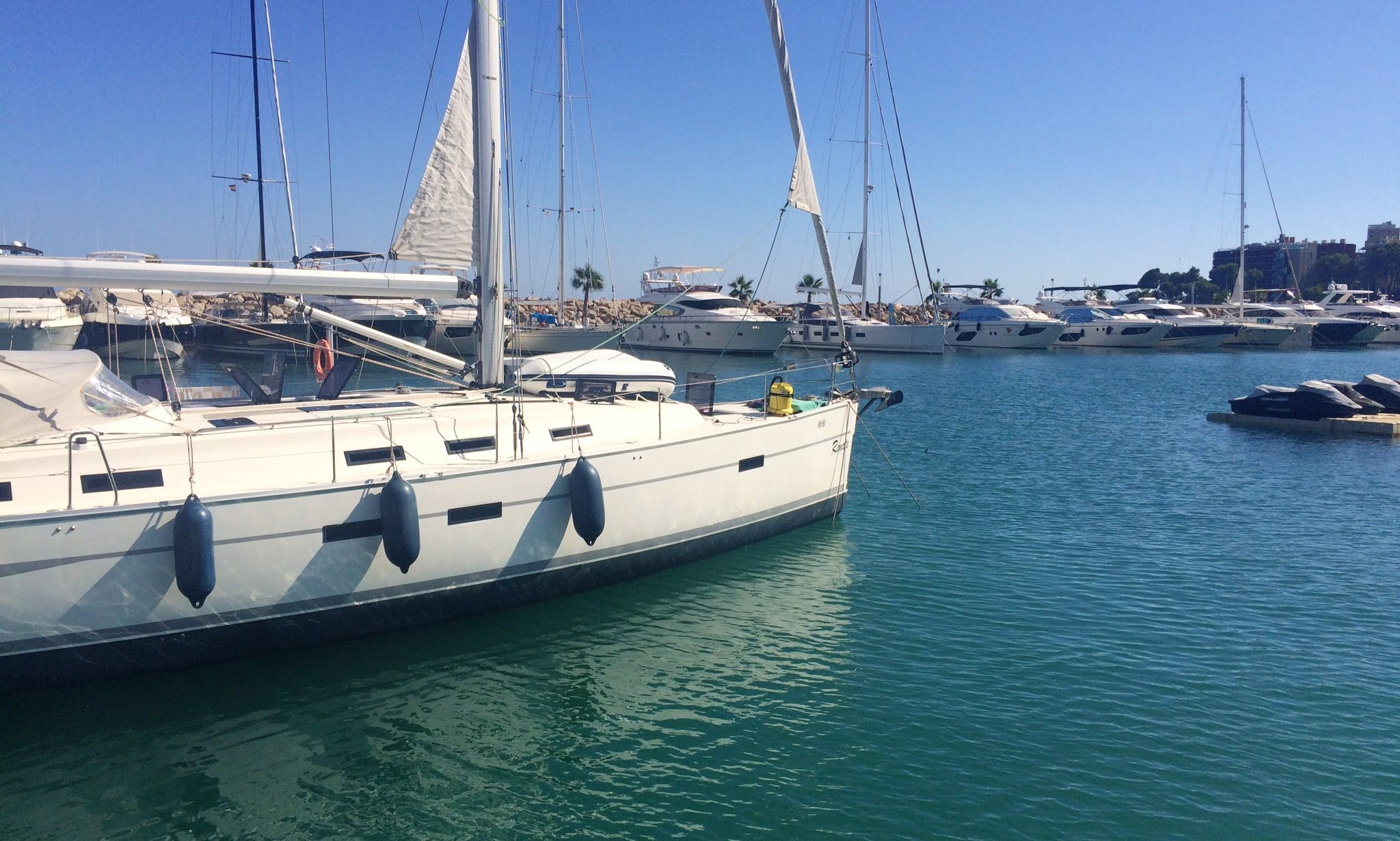 An Amazing Sailing Experience On Cruising Monohull For 8 People In Palma, Balears