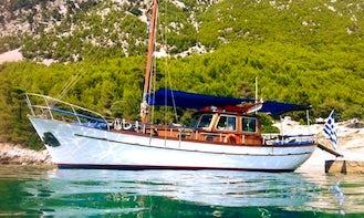 Charter 39' Phaedra Gulet in Chalcis, Greece