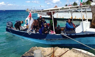 Boat Diving Charter in Cozumel, Mexico