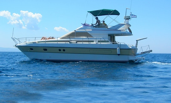Charter 42' Lalaxos Gianetti Motor Yacht In Rhodes, Greece