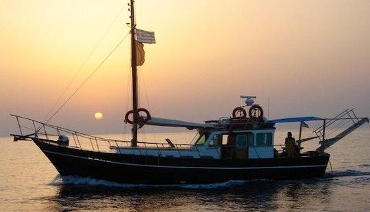 Charter 49' Gulet In Chalkidiki, Greece