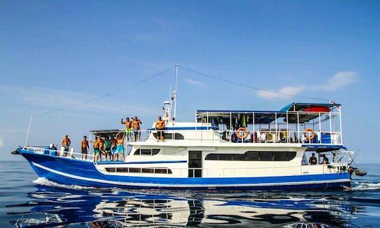 Charter 75' Passenger Boat At Mentawai Island, Siberut