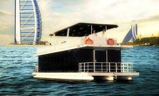 Charter 66' Amsca Houseboat In Dubai, Uae