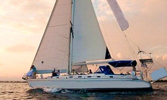 Cruising Monohull Luxury Sail Boat For Charter In Greece
