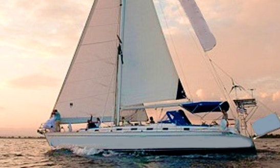 Monohull Luxury Sail Boat