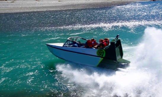 Jet Boat Adventures In Wanaka