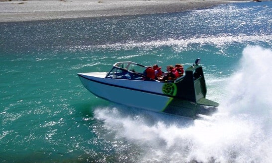 Jet Boat Adventures In Wanaka