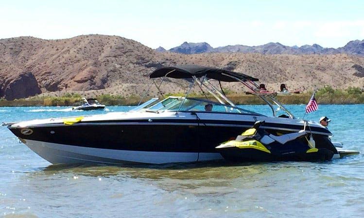 Cobalt 262 Bowrider, 425 HP on trailer in Seal Beach