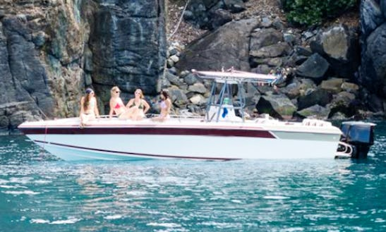 29' Baja Center Console Rental In St. Thomas, U.s. Virgin Islands