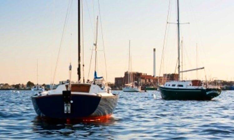 Enjoy Fairhaven, Massachusetts On 23ft Sonar Sailboat - Kuršė