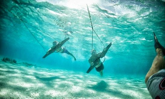 Enjoy Subwing In Virgin Gorda, British Virgin Islands