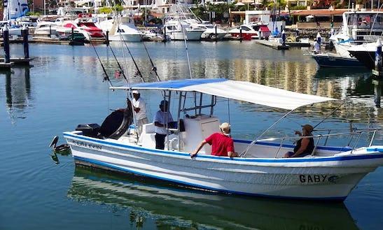 Enjoy Fishing In Puerto Vallarta, Mexico On 28' Gaby Center Console