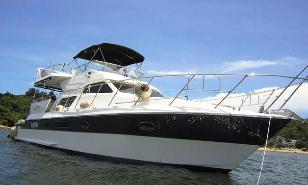 Charter 64' Lazydays One Power Mega Yacht in Hong Kong Island