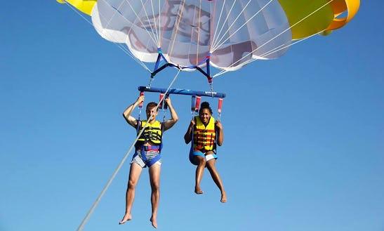 Enjoy Parasailing In Iraklio, Greece