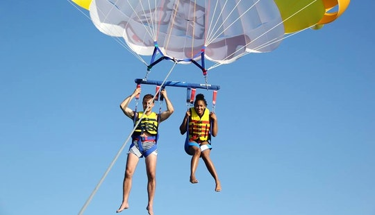 Enjoy Parasailing In Iraklio, Greece
