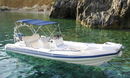 Rent Dolfin 710 Rigid Inflatable Boat In Chania, Greece