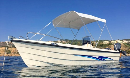 Rent Poseidon 470 Center Console In Chania, Greece