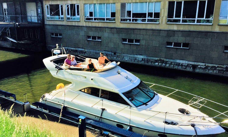 Summertime YACHT Charter (One bottle of champagne included) in Gent, Belgium