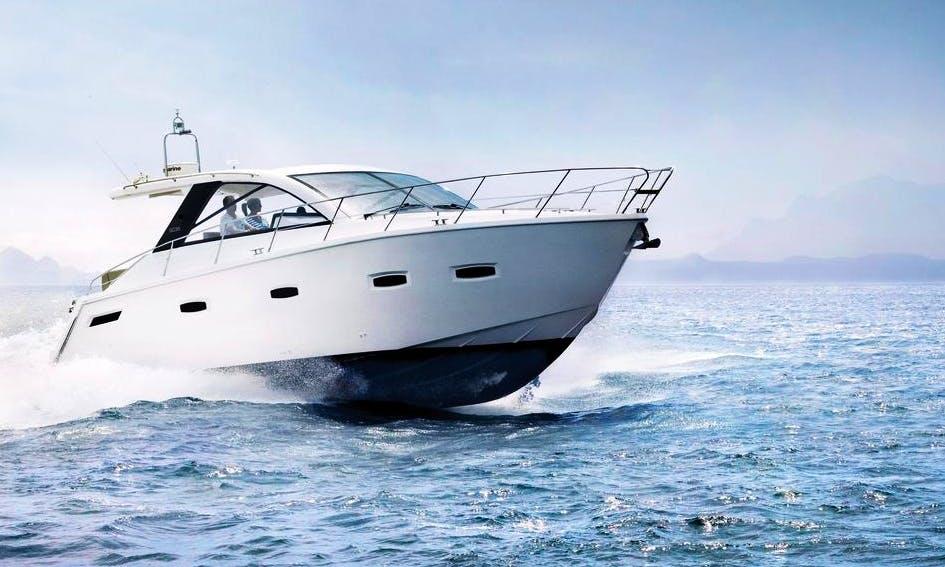 Charter 35' Sealine SC35 Motor Yacht in Marbella, Spain