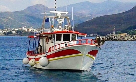 Enjoy Fishing In Kissamos, Greece On A Trawler